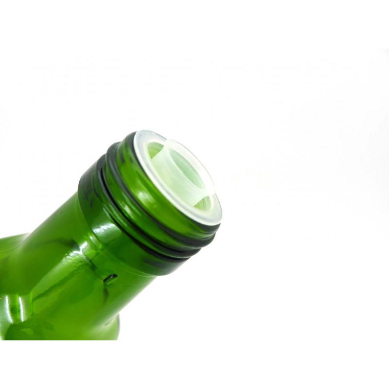 CAPSULE VERPLAST pour huile avec bec verseur - VERTE