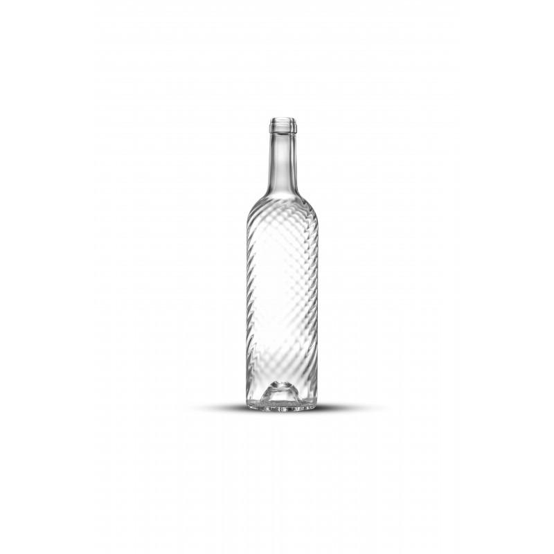 bouteille de vin vide 75 cl bordelaise ecova twist. Black Bedroom Furniture Sets. Home Design Ideas