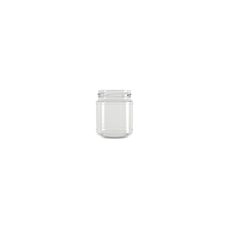 Petit pot standard 20 cl avec réserve - Lot de 12