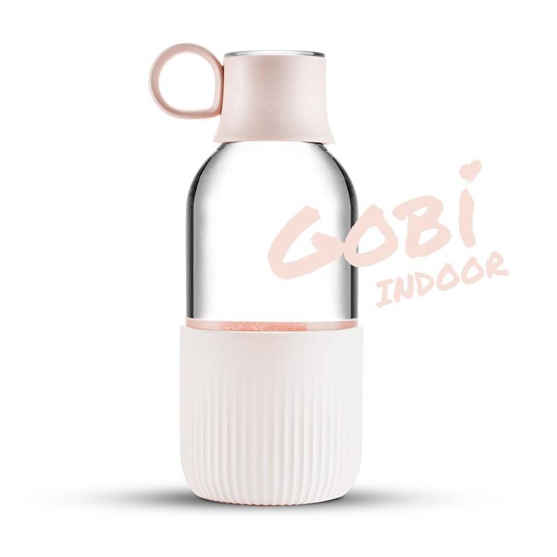Gourde en verre Gobi Indoor - Rose Poudrée