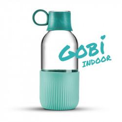 Gourde en verre Gobi Indoor - Turquoise minéral