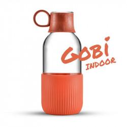 Gourde en verre Gobi Indoor - Brique