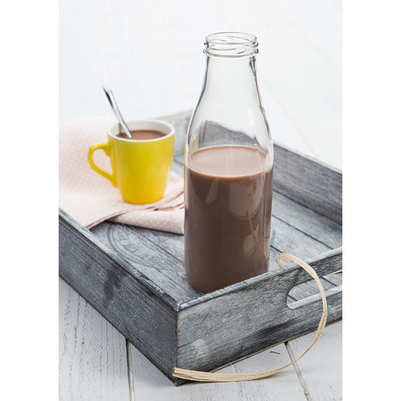 Bouteille Fraicheur 100cl avec chocolat chaud maison