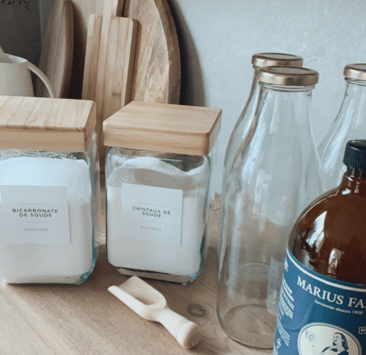 trouver ingrédients lessive home made